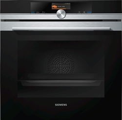 Picture of Siemens HB676G1S6S iQ700 built-in oven black / stainless steel / A +