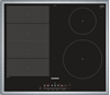 Picture of Siemens EX645FEC1E iQ700 hob electric / ceramic / ceramic glass / 58.3 cm / Flexible cooking zone - vario induction cooking zone / black