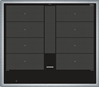 Picture of Siemens EX645LYC1E iQ700 Hob Electric / Ceramic / Ceramic Glass / 58.3 cm / Power Boost function / black