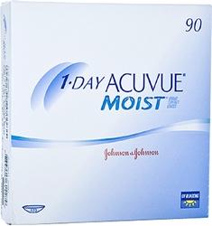 תמונה של עדשות מגע יומיות עיסקה שנתית 1 Day Acuvue Moist  Yearly package (720 lenses) Johnson & Johnson