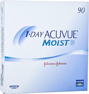תמונה של עדשות מגע יומיות עיסקה חצי שנתית 1 Day Acuvue Moist half a Year package (360 lenses) Johnson & Johnson