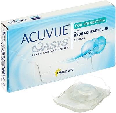 תמונה של עדשות מגע שבועיות Acuvue Oasys for Presbyopia