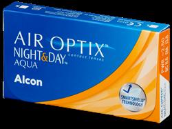תמונה של עדשות מגע שבועיות Alcon Air Optix Aqua Night & Day (6 pcs.)