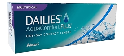 תמונה של עדשות מגע יומיות מולטיפוקל Alcon Dailies AquaComfort Plus Multifocal (30 pcs.)