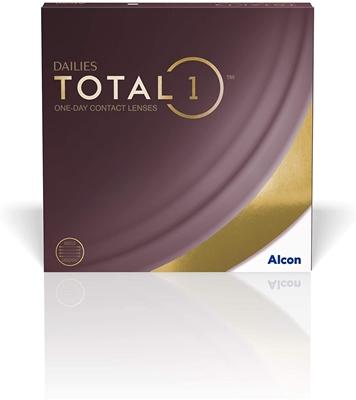 תמונה של עדשות מגע יומיות Alcon Dailies Total 1 (90 pcs.)