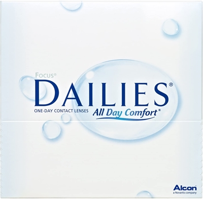 Picture of Alcon: Focus Dailies All Day Comfort  90 pack