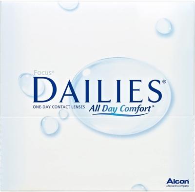 תמונה של עדשות מגע יומיות Alcon: Focus Dailies All Day Comfort  90 pack