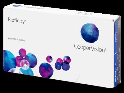תמונה של עדשות מגע שבועיות עיסקה חודשית Biofinity monthly lenses 6 lenses per pack