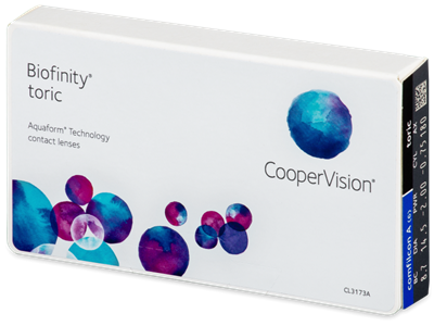 Picture of Cooper Vision Biofinity Toric 6 lenses per pack