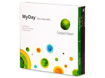 תמונה של עדשות מגע יומיות Cooper Vision MyDay 90 pack
