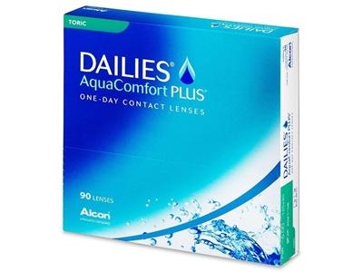 תמונה של עדשות מגע יומיות Dailies AquaComfort Plus Toric (90 pcs.)