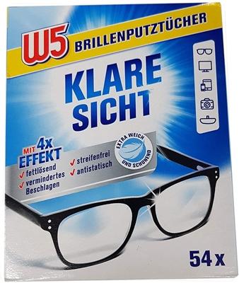 תמונה של מטליות חד פעמיות לניקוי משקפיים Eyeglass  cleaning cloths W5