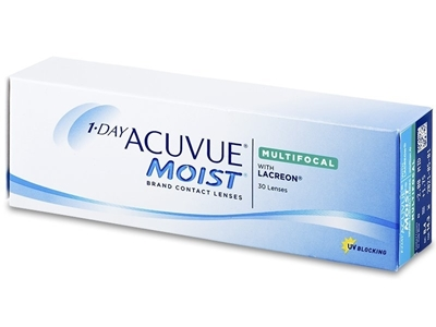 Picture of Johnson & Johnson 1 Day Acuvue Moist Multifocal