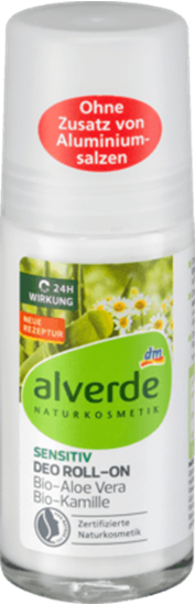 Picture of Deo Roll On Deodorant Sensitive Aloe Vera