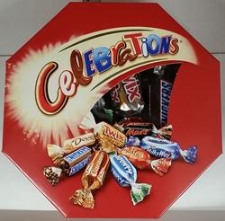 Picture of Celebrations (Twix, Milky Way, Snickers, Mars, Bounty, Dove, Dove Caramel, Maltesers)