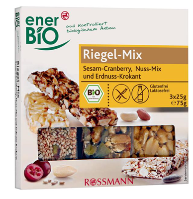 Picture of enerBiO Bio Riegel-Mix