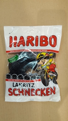 Picture of Haribo licorice snails