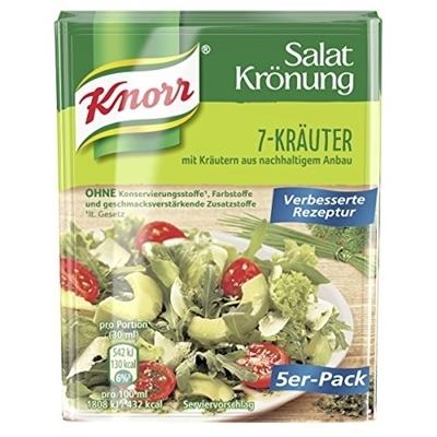 תמונה של קנור Salatkrönung 7 צמחי מרפא דקורציה 5-Pack, 8 גרם
