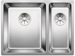 Picture of BLANCO Andano 340/180-U Undercounter sink InFino silk gloss with pull knob 522980
