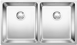 Picture of BLANCO Andano 340/340-U under sink InFino silk gloss without pull knob 522983