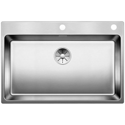 Picture of BLANCO Andano 700-IF InFino stainless steel sink without pull knob 522969