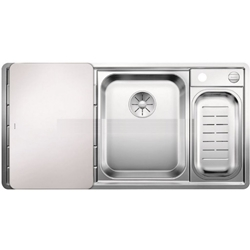 Picture of BLANCO AXIS III 6 S-IF stainless steel sink satin gloss right 522104