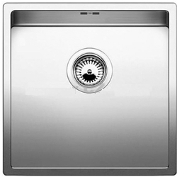 Picture of BLANCO Claron Style 500-U stainless steel sink without pull knob satin gloss 522243