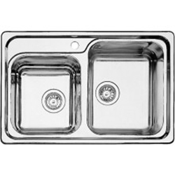 Picture of BLANCO Classic 8 stainless steel sink silk gloss 507543