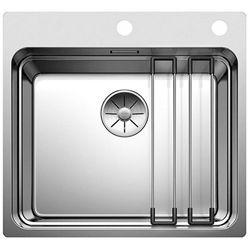 Picture of BLANCO Etagon 500-IF / A stainless steel sink silk gloss with pull knob 521748