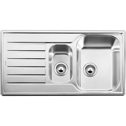 Picture of BLANCO LANTOS 6 S-IF sink stainless steel brushed finish without eccentric 517035