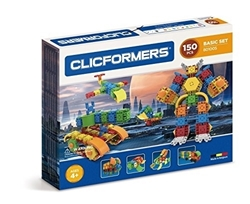 Picture of Clicformers - 801005 fr - Set Basic - 150 pieces