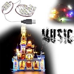 Изображение LED Lighting set for LEGO 71040 Castle Tower