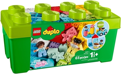 Picture of Lego 10913 Duplo Classic Brick Box, Construction Kit with Storage Space, Plastic, Colourful