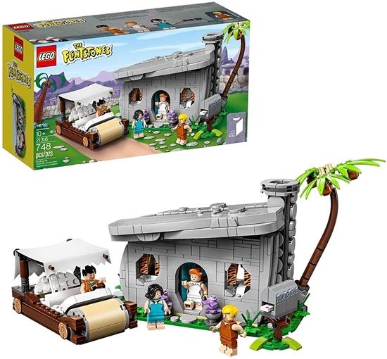 Picture of Lego 21316 Flintstones Toy, Multi-Coloured