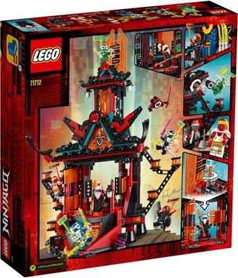 תמונה של לגו 71,712 Ninja אימפריה מקדש של שטויות, בניית גדר עם 6 minifigures, Ninja צעצוע לילדים