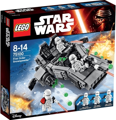 תמונה של לגו מלחמת הכוכבים 75,100 ראשית להזמין Snowspeeder
