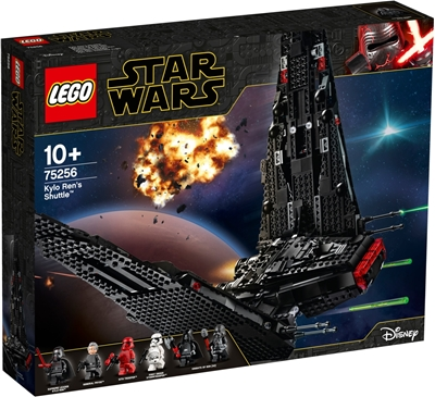 תמונה של לגו מלחמת הכוכבים 75,256 Kylo רנס הסעות קיט בנייה