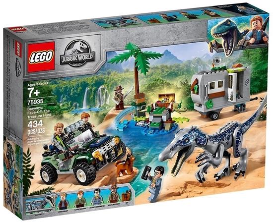 Picture of LEGO 75935 - Jurassic World Baryonyx 'showdown: the treasure hunt, construction kit