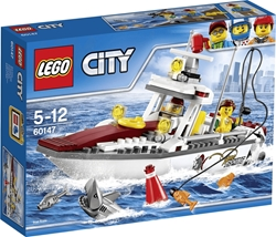 Picture of LEGO City 60147 - Fishing yacht, Creative toy