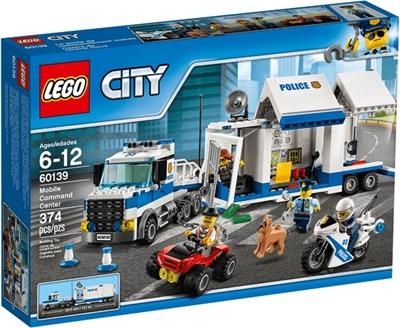 תמונה של לגו סיטי משטרת 60139 - מרכז תפעול נייד, צעצועי הבנייה