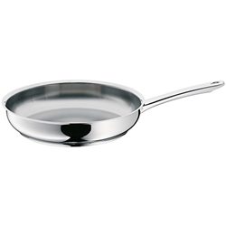 Picture of WMF professional frying pan, Ø 28 cm, Cromargan stainless steel, uncoated, suitable for induction, dishwasher-safe, oven-safe