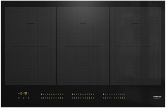 Picture of MIELE KM 7575 FL self-sufficient induction hob, 3 PowerFlex cooking areas, (802mm)