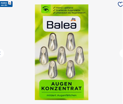 Picture of Balea Concentrate eyes, 7 pcs