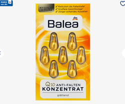 Picture of Balea Concentrate Q10 anti-wrinkle, 7 pcs
