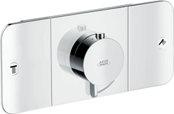 Picture of hansgrohe Axor One thermostat module 45712000 2 outlets, chrome