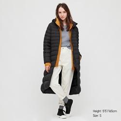 תמונה של מעיל יוניקלו ארוך אולטרה לייט דאון