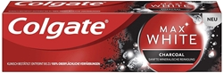 Picture of Colgate Toothpaste max white with activated charcoal, 75 ml