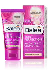 Picture of Balea Day Cream Tinted Complexion Perfection Magic Complexion, 50 ml