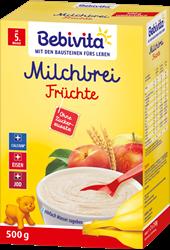 Picture of Bebivita Milk porridge fruits after the 4th month, 500 g