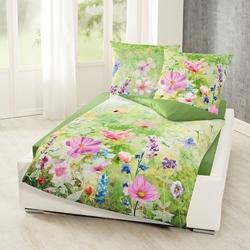 Изображение Bierbaum Mako-Satin reversible bed linen 80x80 cm /135x200 cm-